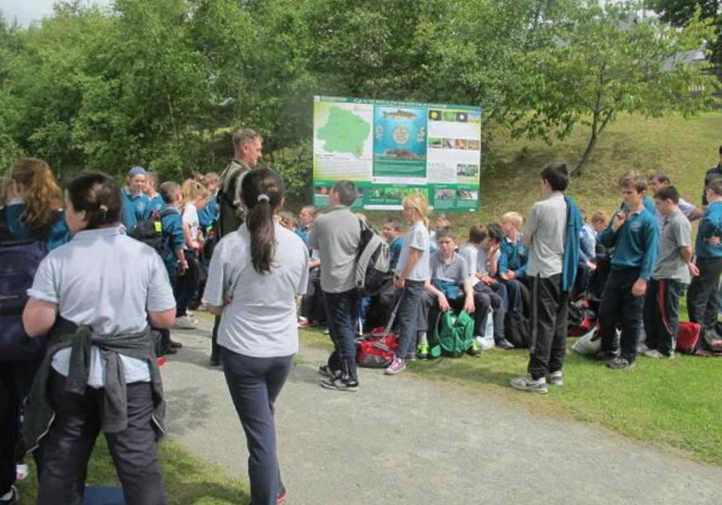 School kids go wild for rivers